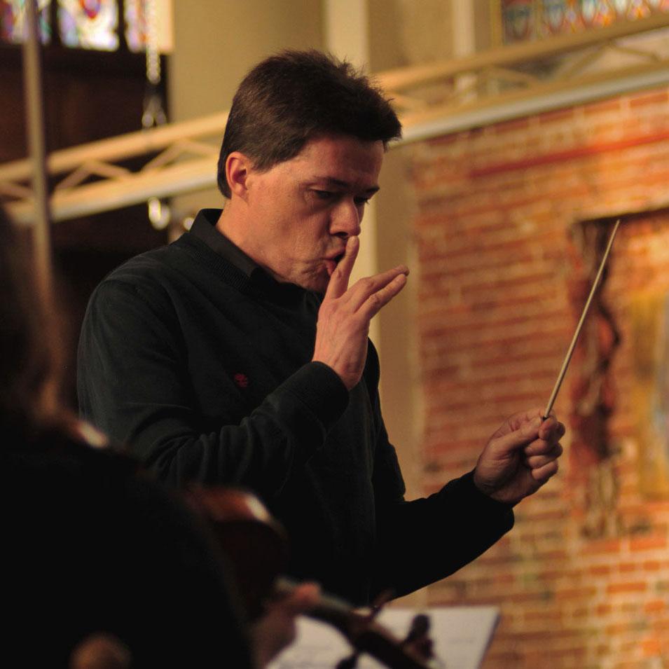 Dirigent Marco Bons